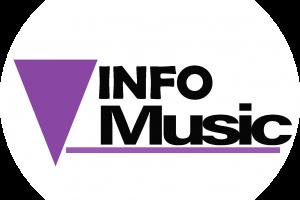logo rond info music